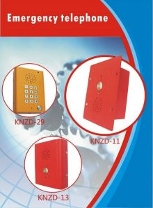 Special Service Wireless Intercom System Emergency Phopne Knzd-13 Telecom Phone pictures & photos