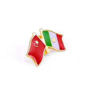 Combination of Australia and Hongkong Flags Badge (GZHY-LP-022) pictures & photos