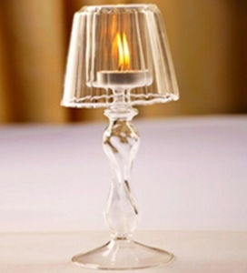 Glass Arts for Wedding Gift Crystal Candle Holders (KS27049) pictures & photos