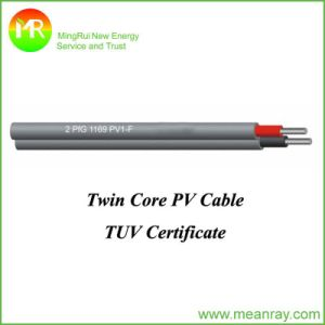 Dual Core Photovoltaic Cable Solar Cable pictures & photos