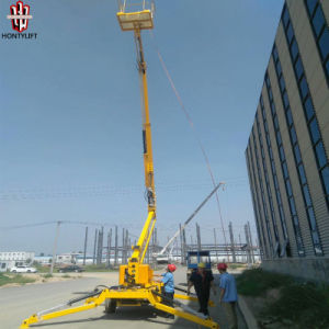 Factory Direct Sale Trailer Boom Lift with High Quality pictures & photos