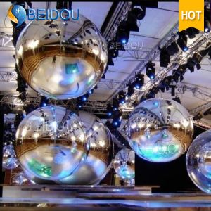 Stage Concert Decorative Inflatable Mini Mirror Gold Disco Balls Floating Inflatable Mirror Ball
