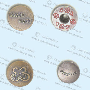 Jeans Button Brass Material with High Quality pictures & photos