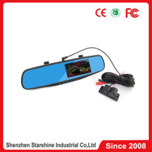 4.3 Inch DVR Car Parking Sensor with Rearview Mirror