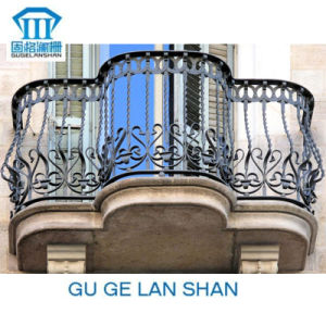 High Quality Crafted Wrought Iron Balcony 005 pictures & photos