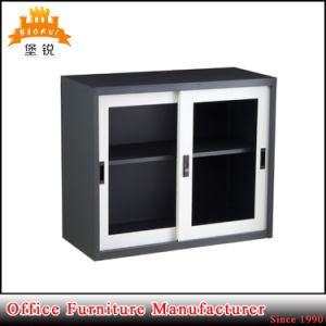 Sliding Glass Door Office Steel Furniture Metal Filing Cabinet pictures & photos