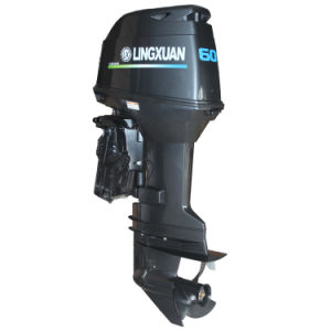 Lingxuan 60HP Two Stroke Outboard Motor (CE Approved)