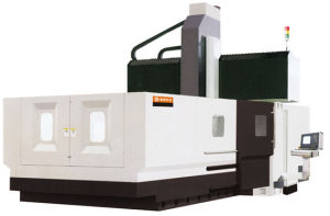 Vertical CNC Milling Machine for Mold Making