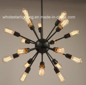 Metallic Round Star Chandelier with Muti Lampholders (WHG-906) pictures & photos