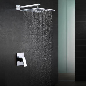 "Sanitary Ware Brass Shower Set Bathroom Set with 12"" Showerhead"