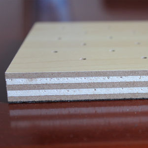 Three Layers Composite MDF Acoustic Ceiling Board pictures & photos