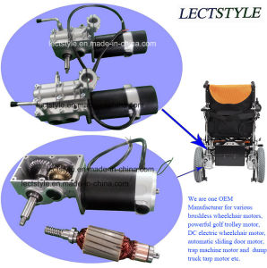 24V 250W Economy Power Wheelchair Motor & Brushless Wheelchair Motor with Foldawheel pictures & photos