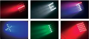 Epsilon PRO Flexcube 25 5X5 10W CREE RGBW LED Beam/Wash Moving Head Matrix Panel Light pictures & photos