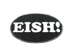 Custom Embroidered Letters Iron on Patch pictures & photos