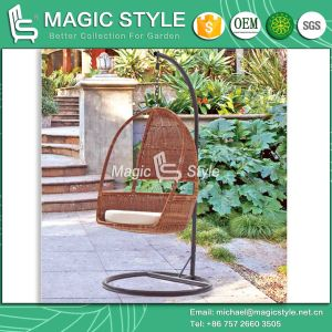 Classical Patio Wicker Swing Balcony Rattan Hammock (Magic Style) pictures & photos