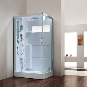 Clear Tempered Glass Steam Shower Cabinet (M-8276) pictures & photos