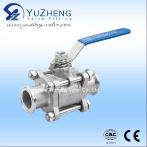 Stainless Steel 3 Piece Floating Ball Valve pictures & photos