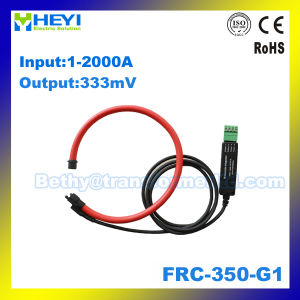 Clip on Design Flexible Rogowski Coil Current Sensor (FRC-350-G1) with Integrator 333mv Output pictures & photos
