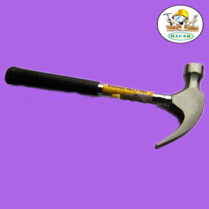 German Manufacturer Claw Hammer with Steel Handle