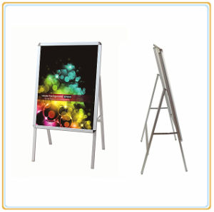 Hot Selling Metal Poster Display Stand/Pavement Poster Board (A1) pictures & photos