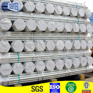 Welded Hot Dipped Galvanised Round Steel Pipe for Scaffolding pictures & photos