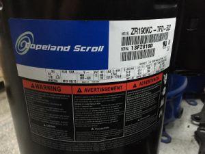 Zr190kc-Tfd-522 Copeland Compressor, Emerson Copeland Scroll Compressor, Zr Series Copeland pictures & photos