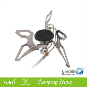 Folding Camping Stove Burns Gas pictures & photos