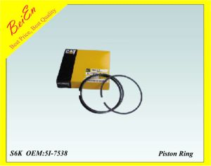 Tp Brand Piston Ring for Excavator Engine S6K (Part number: 5I-7538-00) pictures & photos