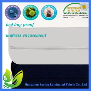 Hotel Collection Zippered Vinyl Bed Bug Proof Mattress Cover pictures & photos