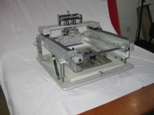 SMT Manual Solder Paste Stencil Printer pictures & photos