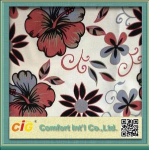Hot Sell Flower Design Print Sofa Fabric pictures & photos