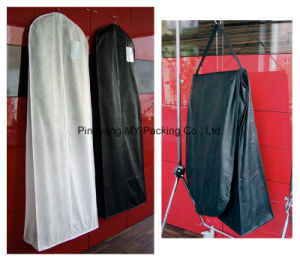 PP Non-Woven Garment Bag Suit Bag with Side Gusset pictures & photos