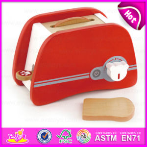 The Simulation Red Wooden Bread Machine Toy Set with En71 for Children Play W10d109 pictures & photos
