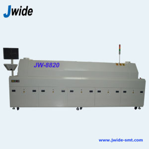 Economical 8 Zone Reflow Solder Oven for LED Production pictures & photos