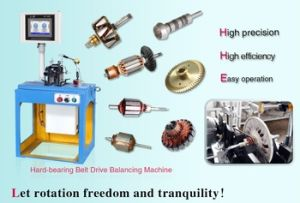 High Precision Small Armature Balancing Machine with Ce ISO Certificated pictures & photos