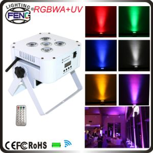 Wireless IR Remote Control 6in1 RGBWA UV LED PAR Can