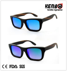 Best Selling Fashion Unisex Wooden Sunglasses CE FDA Kw019 pictures & photos