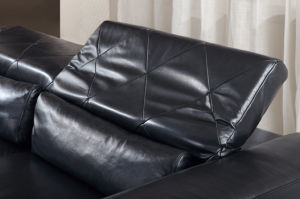 Modern Commercial Sectional Leather Sofa for Living Room (HC3011) pictures & photos