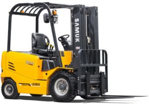 Electric Forklift Truck 2.5t with Hawker Battery pictures & photos