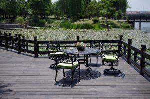 Elegant Cast Aluminum Dining Set Outdoor Furniture pictures & photos