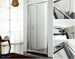 6mm Bi-Fold Glass Shower Doors Foldble Glass Shower Doors Enclosures Tempered Glass Cubicle pictures & photos