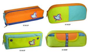 School Pen Bag Colorful Mesh Pencil Bag pictures & photos