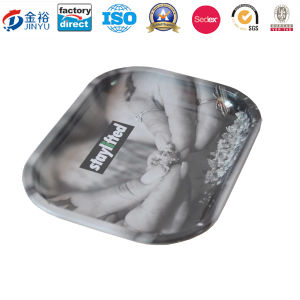 Rectangle Cigarette Metal Tray for Adults Jy-Wd-2015120101 pictures & photos