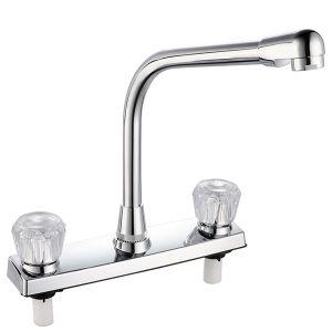 Double Handle Basin Mixer (PR-013) pictures & photos