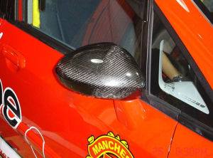 Carbon Fiber Door Mirror Cover for Honda Jazz Fit 2004 pictures & photos