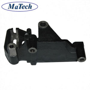 Home Custom Nodular Iron Casting for Engine Chassis Bracket pictures & photos