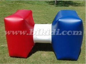 Outdoor Inflatable Paintball Game, Paintball Bunker Dumbbell for Sport Field K8119 pictures & photos