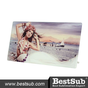 Bestsub Decoration Personalized Sublimation Glass Photo Frame (SG-07) pictures & photos