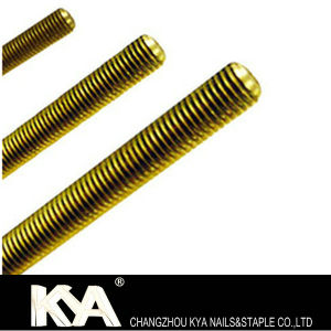 8.8/10.8 Thread Rod of DIN975 Brass Grade pictures & photos