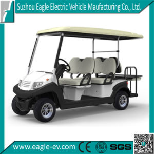 New Electric Golf Car, 6 Seats, 4+2, Flip Flop Seat, CE pictures & photos